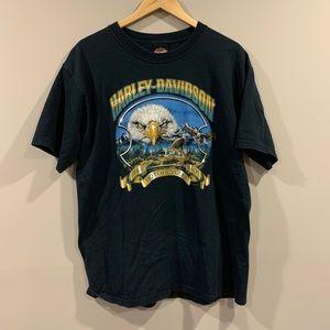 Harley Davidson Eagle T-Shirt ~ 2005